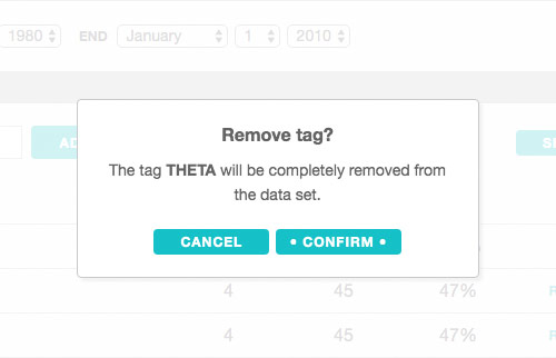 Removing tags from the graph app