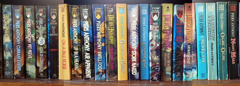 Piers Anthony Book Collection