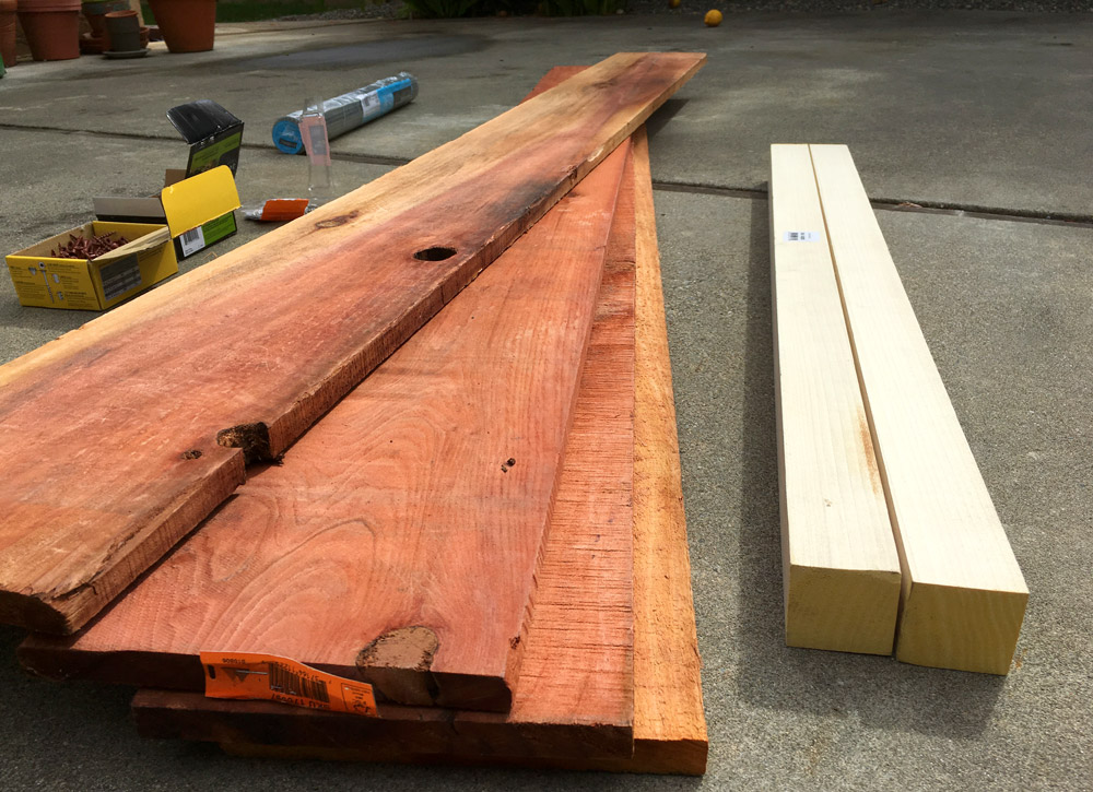 Boards For Planter Box