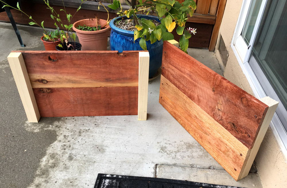 Planter Box Pieces