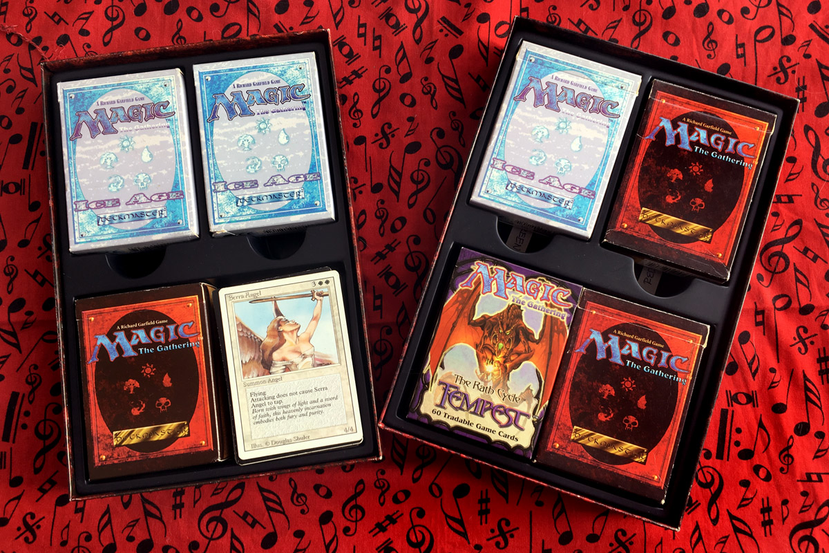 Old School Magic The Gathering Deck Boxes