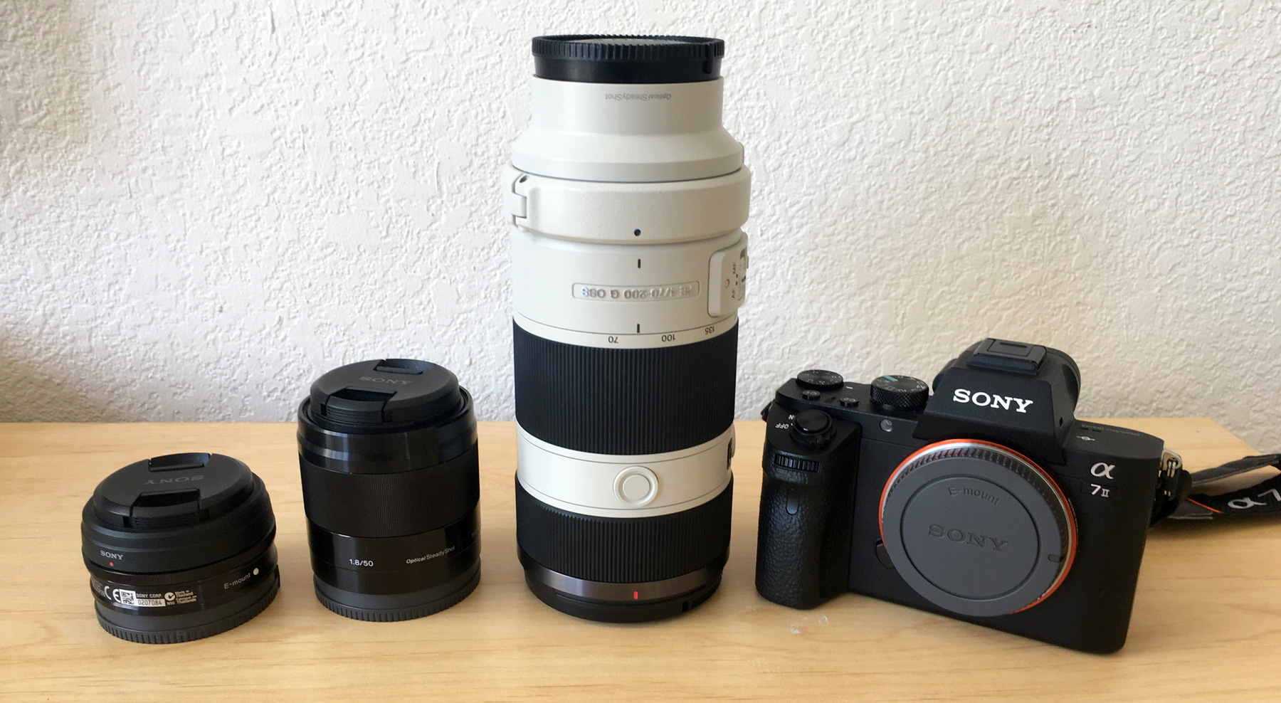 Sony A7II & Lenses