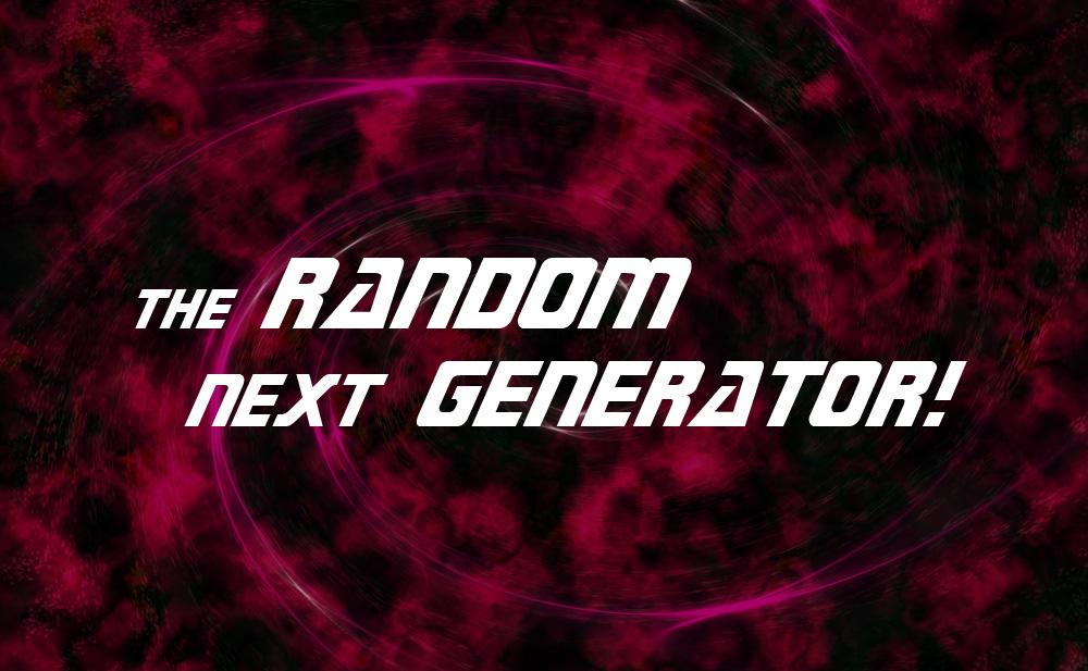 The Random Next Generator