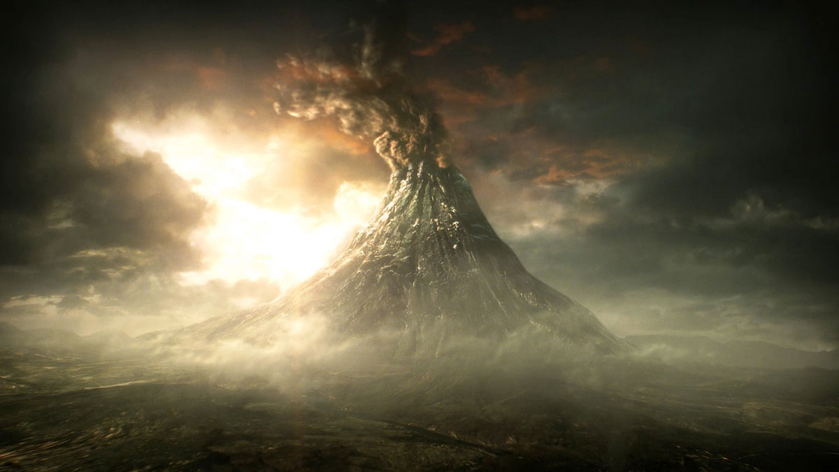 Lord of The Rings Mount Doom