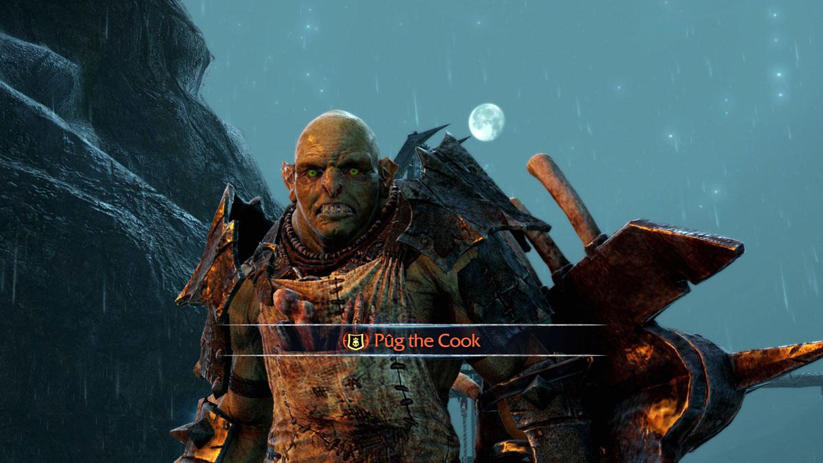 Shadow of Mordor: Pug The Cook