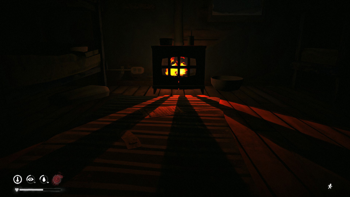 The Long Dark Fireplace