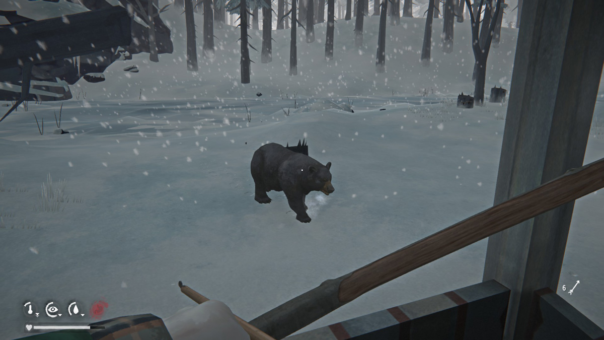 The Long Dark Hunting Bear