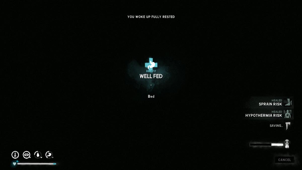The Long Dark Well Fed Bonus